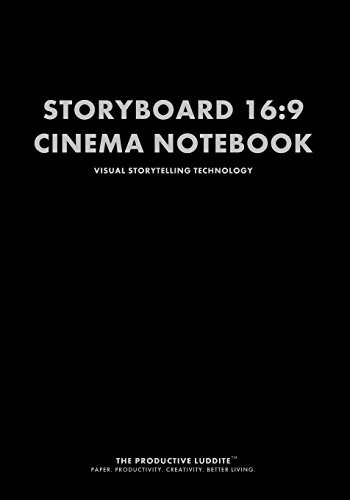 Productive Luddite Storyboard 16:9 Cinema Notebook: Visual Storytelling Technology