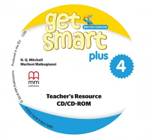 Mitchell H.Q., Malkogianni Marileni CD-ROM. Get Smart Plus 4. Teacher's Resource