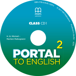 H.Q. Mitchell, Marileni Malkogianni Portal to English 2 Cl CD
