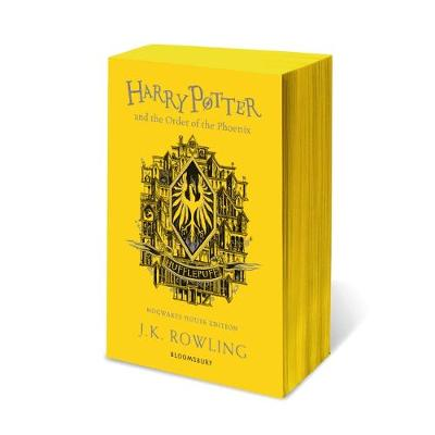 Rowling J.K. Harry Potter and the Order of the Phoenix. Hufflepuff Edition