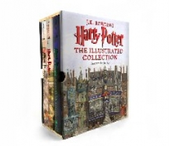 Rowling J.K. Harry Potter: The Illustrated Collection (Books 1-3 Boxed Set)