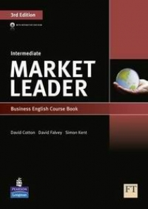 David Cotton, David Falvey and Simon Kent Market Leader 3rd Edition Intermediate Coursebook and DVD-ROM Pack