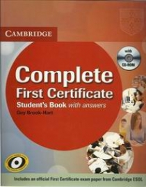 Simon Haines, Guy Brook-Hart Complete First Certificate Student's Book with answers with CD-ROM