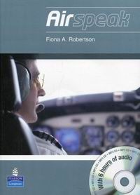 Fiona Robertson Airspeak Coursebook and CD-ROM Pack