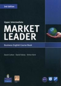 David Cotton, David Falvey and Simon Kent Market Leader 3rd Edition Upper-Intermediate Coursebook and DVD-ROM Pack