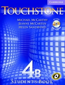 Michael J. McCarthy, Jeanne McCarten Touchstone Level 4 Student's Book B with Audio CD/ CD-ROM