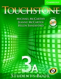 Michael J. McCarthy, Jeanne McCarten Touchstone Level 3 Student's Book A with Audio CD/ CD-ROM