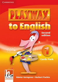 Gunter Gerngross and Herbert Puchta Playway to English (Second Edition) 1 Cards Pack. Набор карточек.