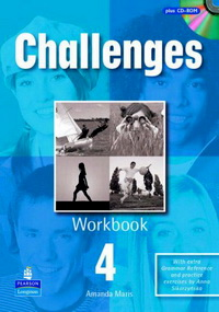 Amanda Maris / Liz Kilbey Challenges Level 4 Workbook and CD-Rom Pack