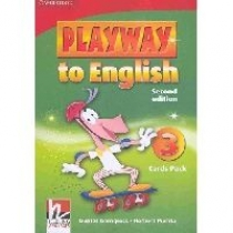 Gunter Gerngross and Herbert Puchta Playway to English (Second Edition) 3 Cards Pack