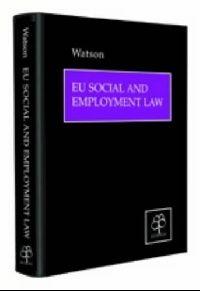 Обложка книги EU Social and Employment Law