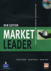 David Cotton, David Falvey, John Rogers, Iwona Dubicka, .Simon Kent, Lewis Lansford, Margaret O'Keeffe New Market Leader Pre-Intermediate Coursebook with Multi-ROM