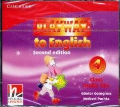 Gunter Gerngross and Herbert Puchta Playway to English (Second Edition) 4 Class CD-ROM  (3 диска)