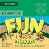 Anne Robinson and Karen Saxby Fun for Movers 2nd edition - CD лицензия