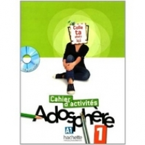 Marie-Laure Poletti, Celine Himber Adosphere 1 - Cahier d'activites + CD-Rom