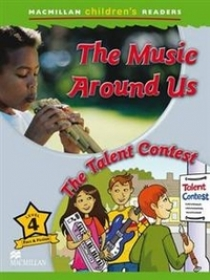 Mark Ormerod Macmillan Children's Readers Level 4 - Making Music - The Talent Contest