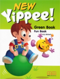 H.Q. Mitchell New Yippee! Green Fun Book + Interactive Audio CD/ CD-ROM