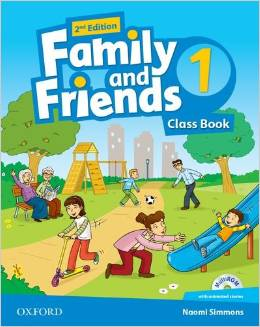 Tamzin Thompson, Naomi Simmons, Jenny Quintana Family and Friends Second Edition 1 Class Book and multiROM Pack
