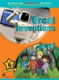 Mark Ormerod Macmillan Children's Readers Level 6 - Inventions - Lost