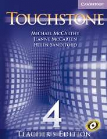 Michael J. McCarthy, Jeanne McCarten Touchstone Level 4 Teacher's Edition with Audio CD