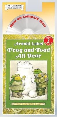 Обложка книги Frog and Toad All Year Book and CD (I Can Read Book 2)