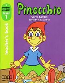 Primary Reader Level 1 Pinocchio Teacher's Book With Audio CD