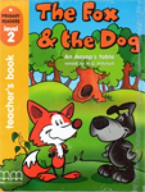 Primary Reader Level 2 The Fox & The Dog, Teacher's book with Audio CD