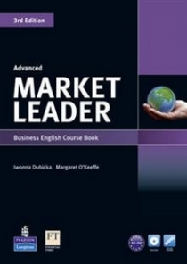 David Cotton, David Falvey and Simon Kent Market Leader 3rd Edition Advanced Coursebook and DVD-ROM Pack
