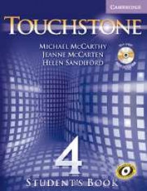 Michael J. McCarthy, Jeanne McCarten Touchstone Level 4 Student's Book with Audio CD/ CD-ROM