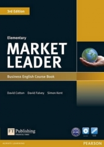 David Cotton, David Falvey and Simon Kent Market Leader 3rd Edition Elementary Coursebook and DVD-ROM Pack