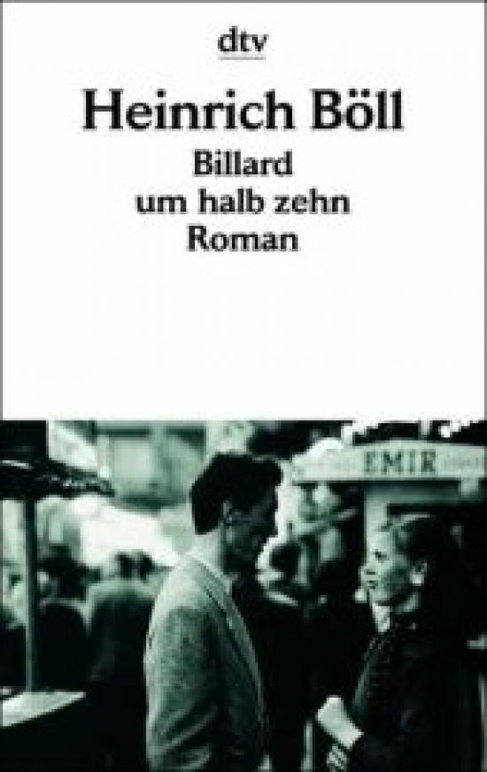 Обложка книги Billard um halb zehn