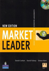 David Cotton, David Falvey, John Rogers, Iwona Dubicka, .Simon Kent, Lewis Lansford, Margaret O'Keeffe New Market Leader Elementary Coursebook with Multi-ROM