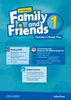 Tamzin Thompson, Naomi Simmons, Jenny Quintana Family and Friends Second Edition 1 Teachers Book Pack