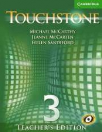 Michael J. McCarthy, Jeanne McCarten Touchstone Level 3 Teacher's Edition with Audio CD