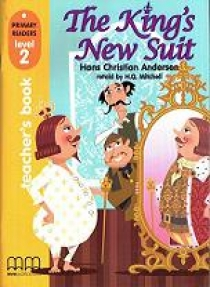 Primary Reader Level 2 The King's New Suit Teacher's Book With Audio CD