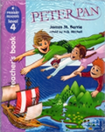 Primary Reader Level 4 Peter Pan, Teacher's book With Audio CD