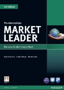 David Cotton, David Falvey and Simon Kent Market Leader 3rd Edition Pre-Intermediate Coursebook and DVD-ROM Pack