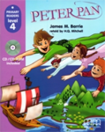 Primary Reader Level 4 Peter Pan, With Audio CD