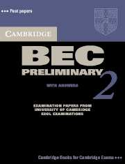 Cambridge BEC (business english course) Preliminary 2 Student's Book with answers