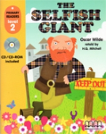 Primary Reader Level 2 The Selfish Giant, With Audio CD