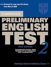 Обложка книги Cambridge Preliminary English Test 2 (Exam. Papers)