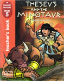 Level 5 Theseus and The Minotaur, Teacher's book With Audio CD