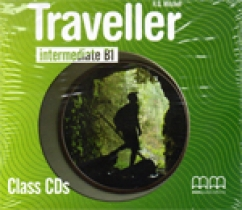 H.Q. Mitchell Traveller Intermediate B1 Class CDs