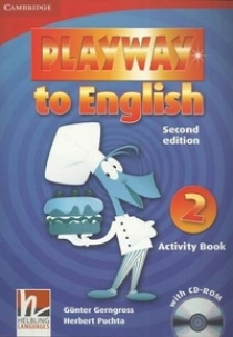 Gunter Gerngross and Herbert Puchta Playway to English (Second Edition) 2 Activity Book with CD-ROM