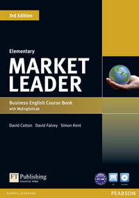 Cotton D. Market Leader 3rd Edition Elementary Coursebook with DVD-ROM and MyLab Access Code Pack