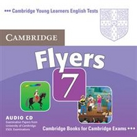 Cambridge Young Learners English Tests 7 Flyers Audio Cd: Examination Papers from University of Cambridge ESOL Examinations. Audio CD