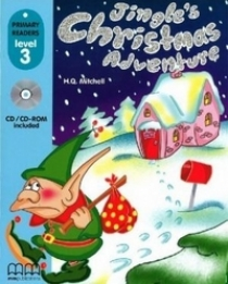 Mitchel H. Q. - Primary Reader Level 3 Jingle's Christmas Adventure, With Audio CD