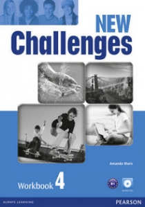 Amanda Maris New Challenges 4. Workbook (with Audio CD)