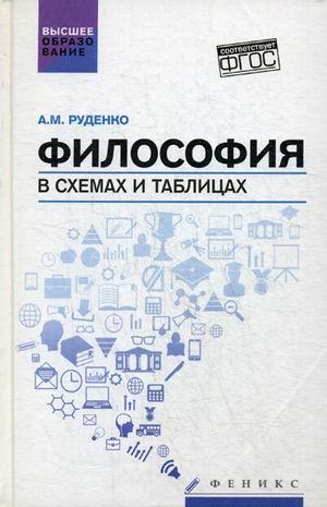 Философия в схемах и таблицах а м руденко.