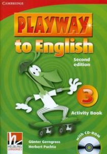Gunter Gerngross and Herbert Puchta Playway to English (Second Edition) 3 Activity Book with CD-ROM